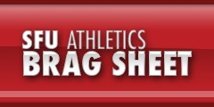 SFU Athletics Brag Sheet